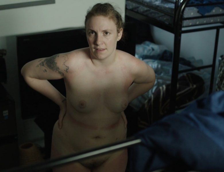 Lena Dunham's Topless Interracial Sex Scene from Girls (2017)