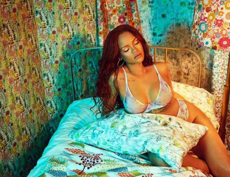 Thick Seductress Rihanna Looks Amazing in Revealing Lingerie