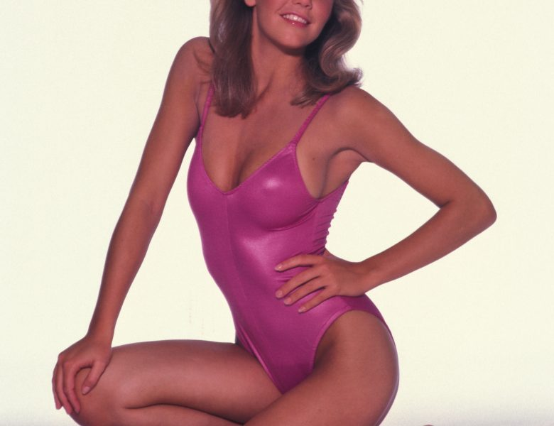 Young Heather Locklear Showing Her Immaculate Body in a Onesie