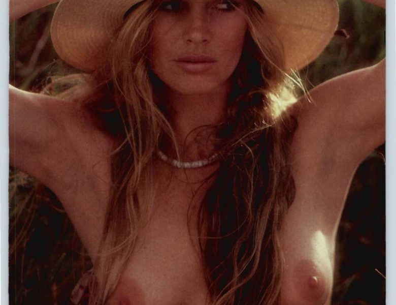 Kim Basinger Showing Her Nude Boobs in a Retro Photoshoot