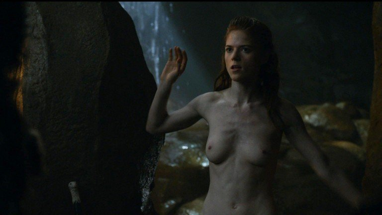 Perfect Nympho Rose Leslie Shows Her Naked Ass and More