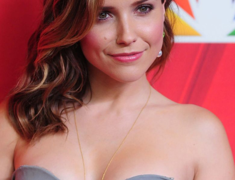Stunning Sophia Bush Flashes Her Winning Smile and Sexy Breasts