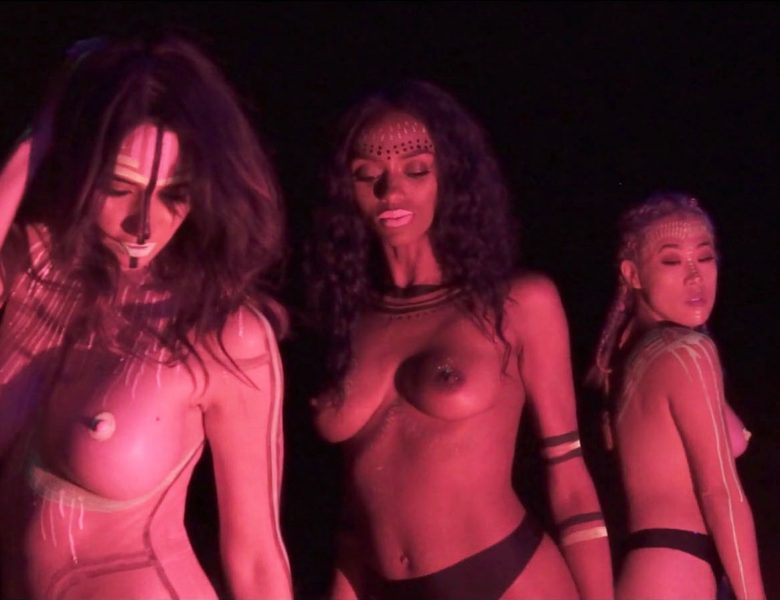 Sara Malakul Lane and Other Hot Babes Showing Their Naked Breasts