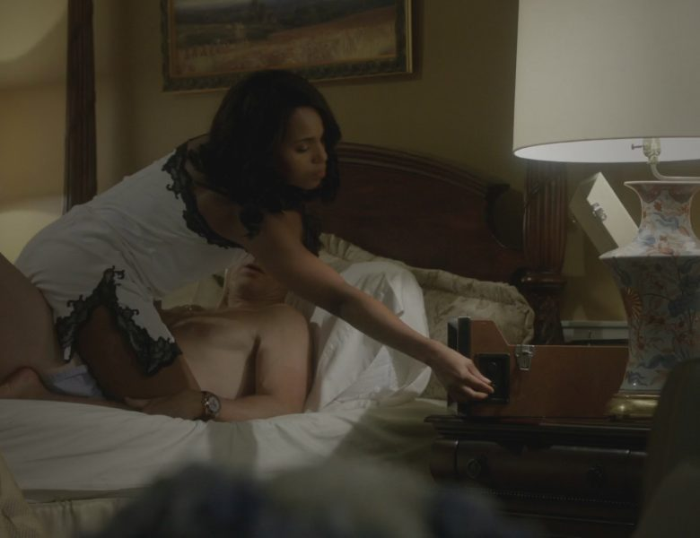 Kerry Washington is Big Into Interracial Love-Making (Scandal Screencaps)