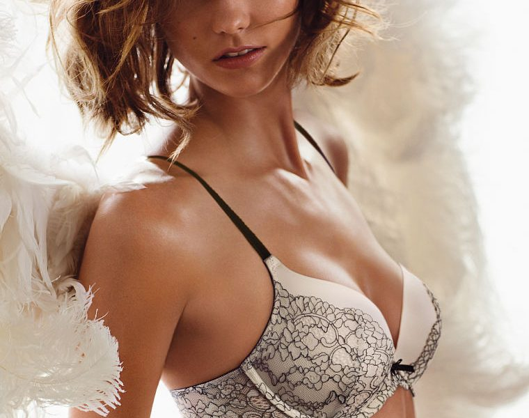 Beautiful Lingerie Photoshoot Focusing on Karlie Kloss