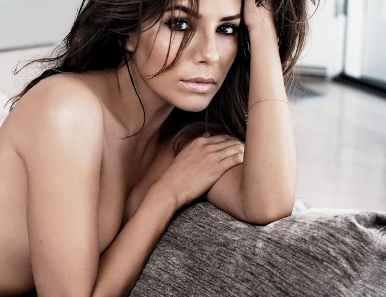 Smoldering Eva Longoria Shows Her Body on the Pages of a Magazine