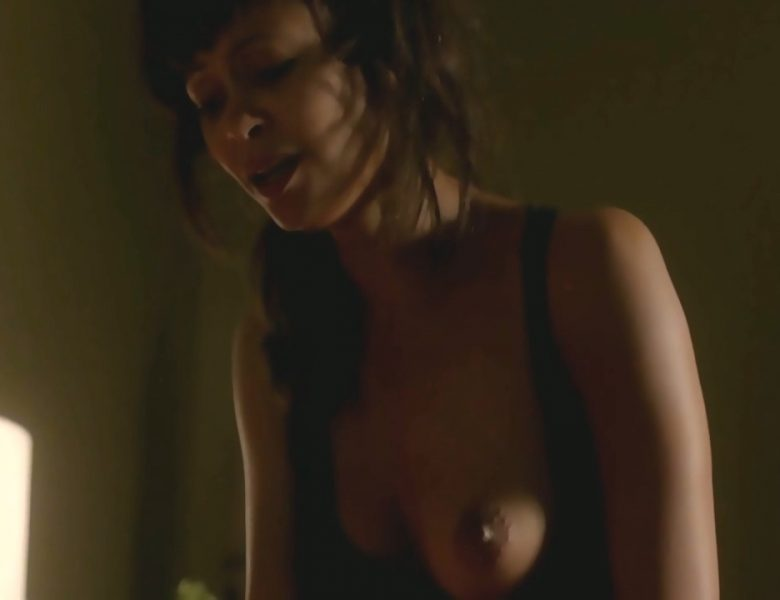 Thandie Newton Enjoying Impassioned Interracial Sex in a Hot Scene