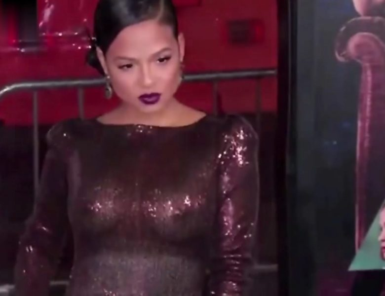 Christina Milian Shows Her Perky Breasts on the Red Carpet