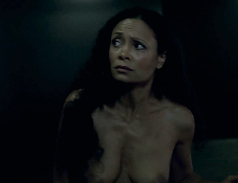 Thandie Newton Showing Her Naked Breasts and Perky Nude Ass in HQ