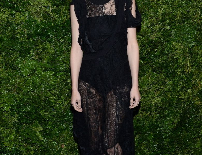 Skinny Actress Rooney Mara Looks Phenomenal in a See-Through Dress