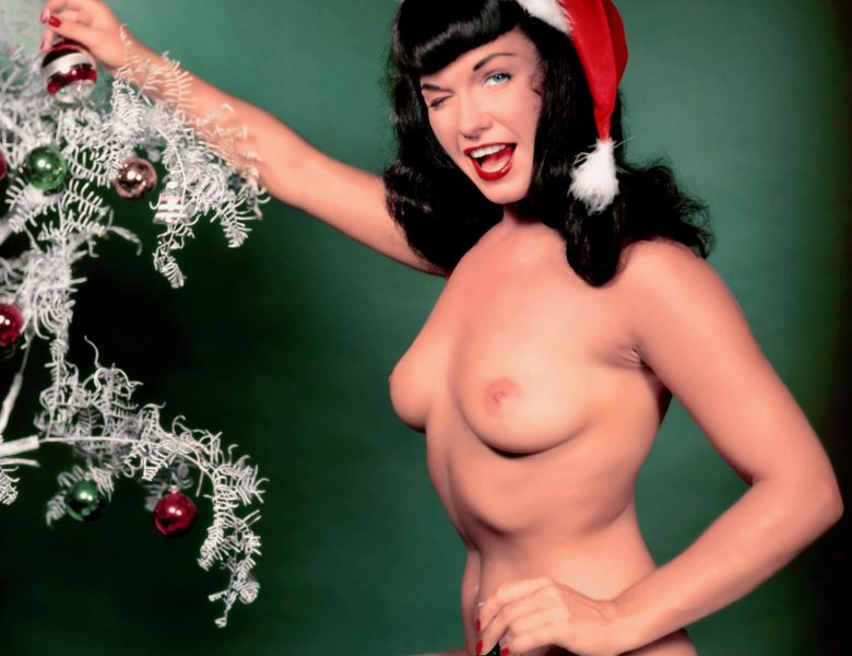 Unforgettable Bettie Page Showing Her Naked Boobs and Bare Butt in HQ