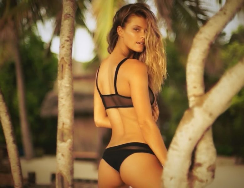 Naughty Nina Agdal Displaying Her Perfect Body in Slutty Swimsuits