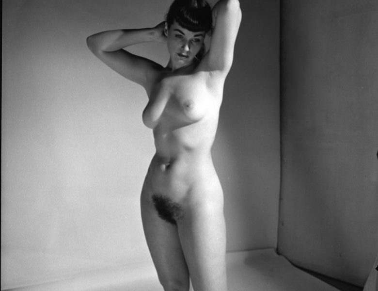 Good-Looking Brunette Bettie Page Is Happy to Showcase Her Perfect Body