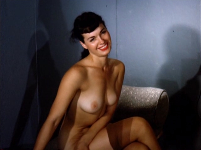 Pin-Up Bombshell Bettie Page Looks Breathtaking in Her Lingerie Photoshoot