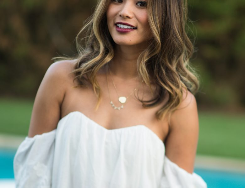 Adorable Brunette Jamie Chung Showing Her Cleavage in High Quality