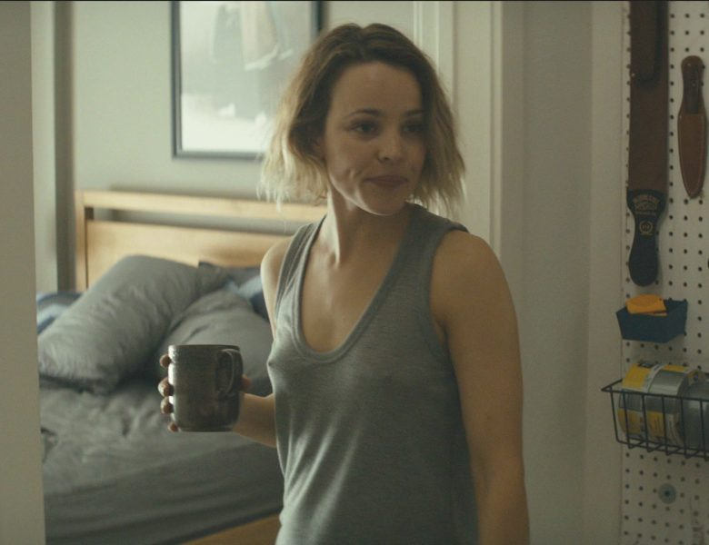 Adorable Blonde Rachel McAdams Shows Her Ass and Pointy Nipples