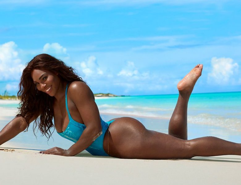 Magnificent Set of Swimsuit Pictures Centering on Serena Williams