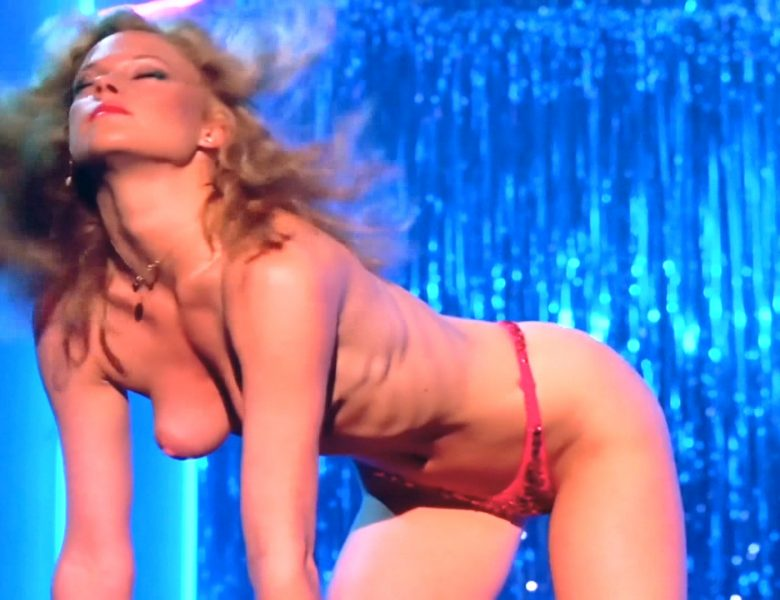 Topless Melanie Griffith Prancing Around on the Stage and Looking Hot