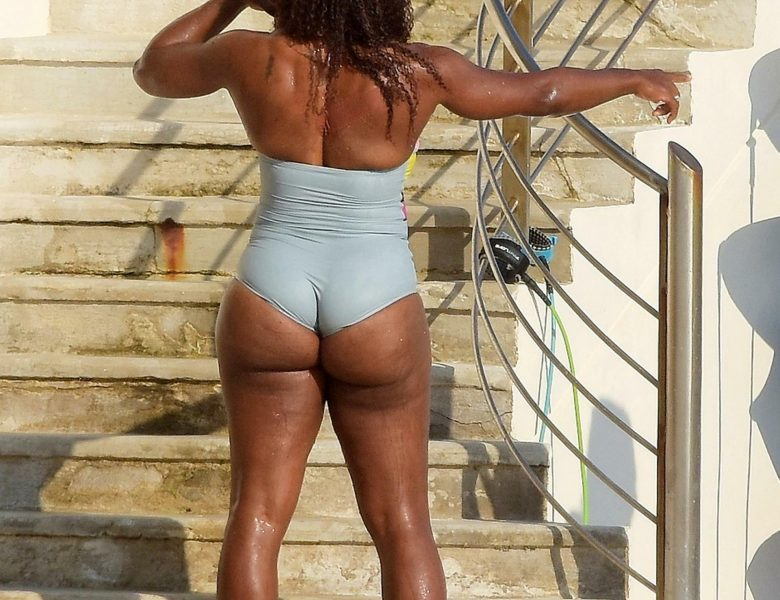 Big Booty Babe Serena Williams is Proud to Display Her Curves
