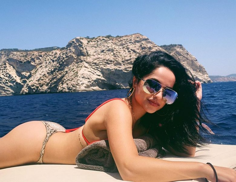 Varied Collection of Pictures Featuring Becky G and Her Impressive Physique