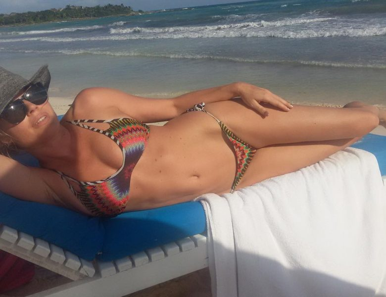 There's Nothing Better Than Seeing a Bikini-Wearing Rebecca Romijn
