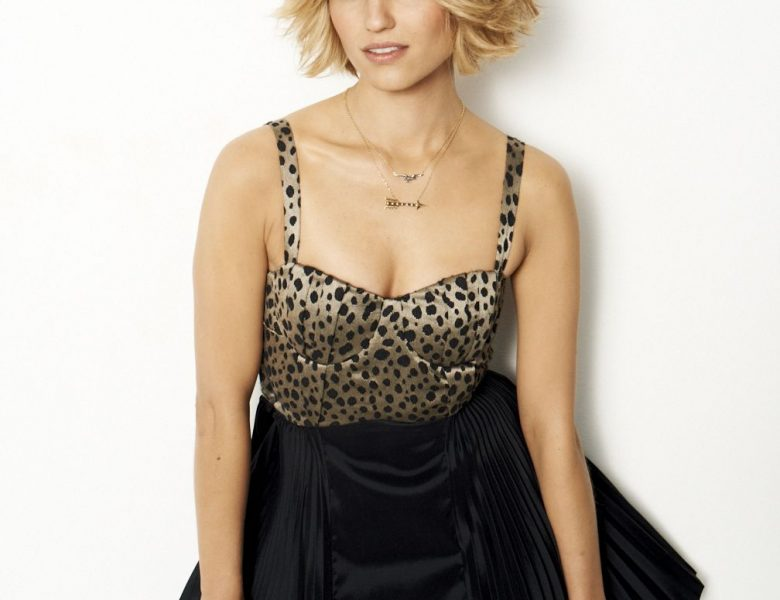 Iconic Dianna Agron Showing Her Appealing Body in a Seductive Photoshoot